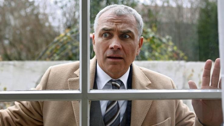 Hansa Czypionka spielt im ARD-Film Aber jetzt erst recht einen reichen Topmanager in auswegloser Situation. (Foto)