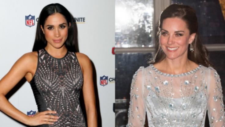 Haben eine modische Gemeinsamkeit: Meghan Markle und Kate Middleton.