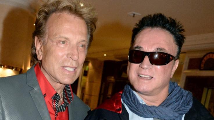 Im Himmel vereint: Siegfried Fischbacher (links) und Roy Horn. (Foto)