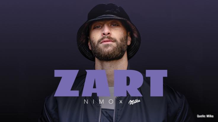 """Zusammen mit Milka releaste Nimo kürzlich seinen Song """"ZART"""" (Foto)"""