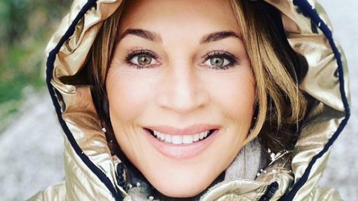 Moderatorin Caroline Beil ist auf Instagram sehr aktiv. Nun veröffentlichte sie neben Selfies auch mal wieder ein Pärchenfoto. (Foto)