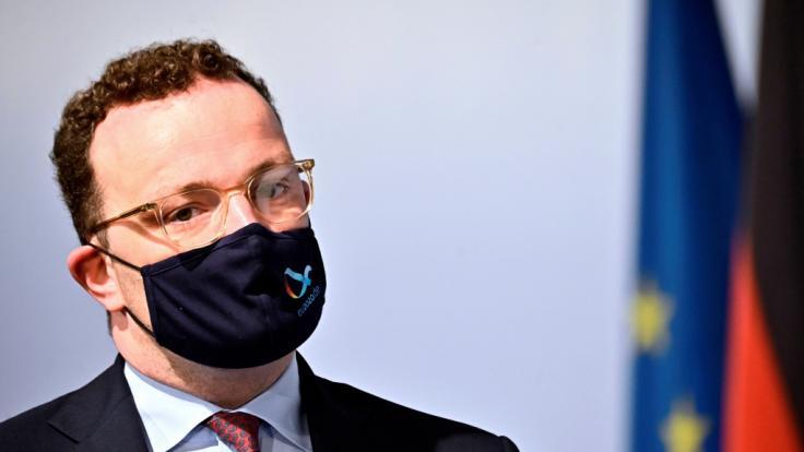 Jens Spahn hat auf einer Pressekonferenz über die aktuelle Corona-Lage informiert. (Foto)