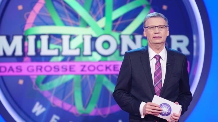 """Günther Jauch startet in die neue Saison """"Wer wird Millionär"""" mit einem Zocker-Spezial am 21. August 2017. (Foto)"""
