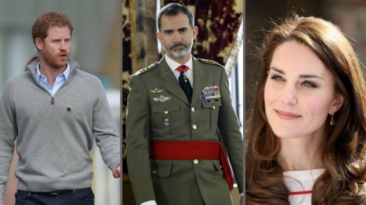 Von Prinz Harry über König Felipe von Spanien bis Kate Middleton: Diese Royals-Meldungen schockierten in der vergangenen Woche die Welt.