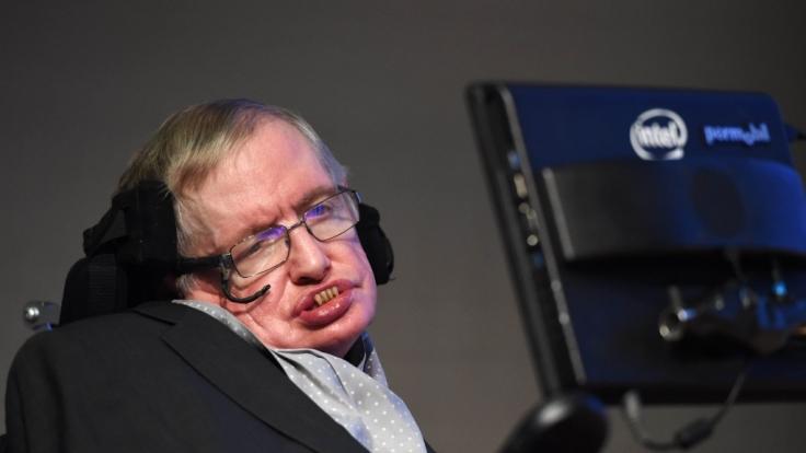 """Warnt im Interview mit der Zeitung """"El País"""" vor der Invasion der Aliens: Stephen Hawking. (Foto)"""