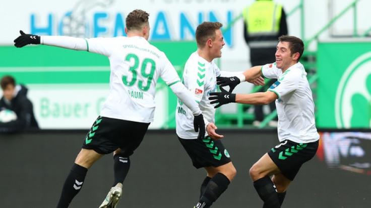 In der 2. Fußball-Bundesliga steht an diesem Wochenende der 16. Spieltag an.
