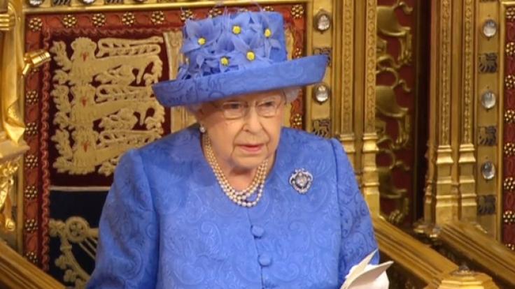 Dieser Hut sorgte bei der Verlesung des Brexit-Plans für Wirbel. War er ein Pro-EU-Statement? (Foto)