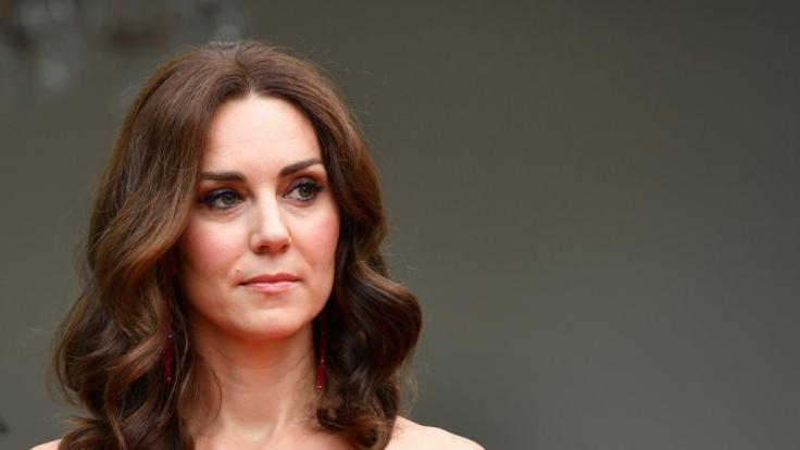 Im April wird Kate Middleton ihr drittes Kind zur Welt bringen. (Foto)