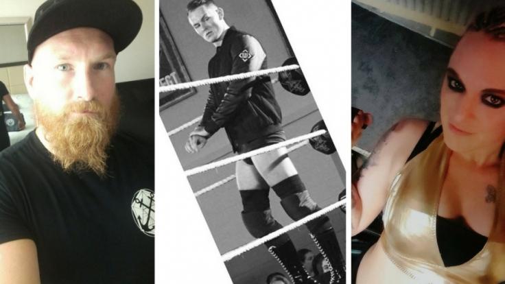 Sie sind die deutschen Wrestling-Hoffnungen bei WWE.