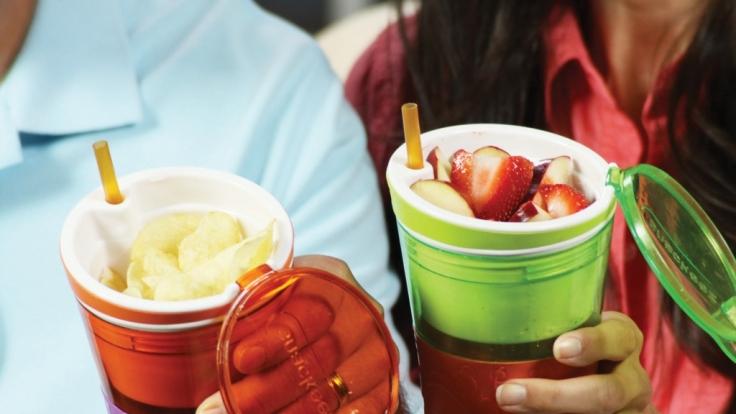Snack und Getränk immer griffbereit - kein Problem mit Snackeez.