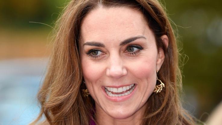 Herzogin Kate nahm am Nato-Empfang der Queen teil.