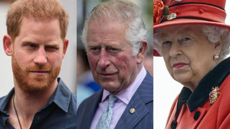 Die Royals-News der Woche waren bestimmt von Schlagzeilen zu Prinz Harry, Prinz Charles und Queen Elizabeth II. (Foto)