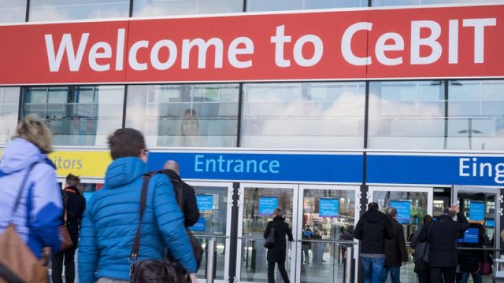 Die IT-Messe CeBIT öffnet vom 20. bis 24. März in Hannover ihre Pforten.