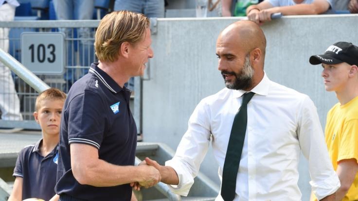 Auch Bundesligatrainer konnten schon als Spieler Erfolge verbuchen. (Foto)
