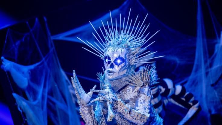 """Die Figur """"Das Skelett"""" zählt zu den Fan-Lieblingen der aktuellen """"The Masked Singer""""-Staffel. (Foto)"""