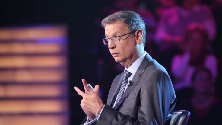 Günther Jauchs Kandidat könnte eine Million Euro mit nach Hause nehmen. (Foto)