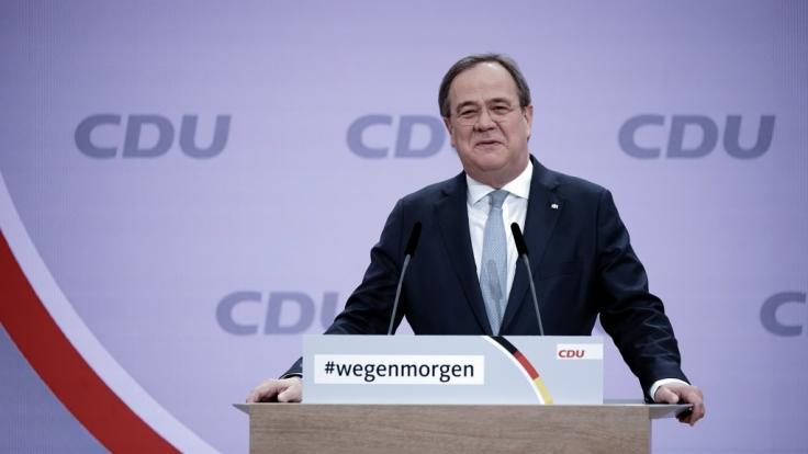 NRW-Ministerpräsident Armin Laschet wird neuer CDU-Chef.