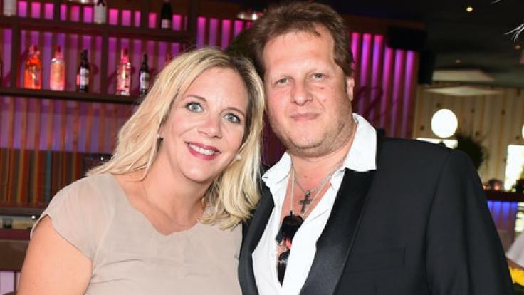 Jens Büchner und seine Daniela heirateten am 3.06.2017. (Foto)