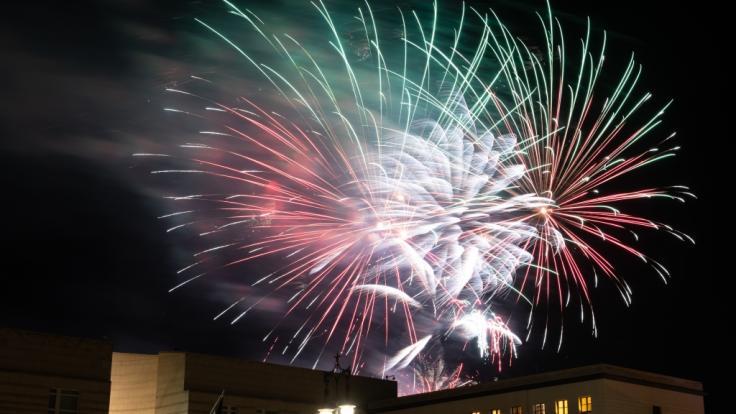 An Silvester werden nicht alle deutschen Städte von Feuerwerk erleuchtet - in vielen Orten besteht ein Feuerwerksverbot. (Foto)
