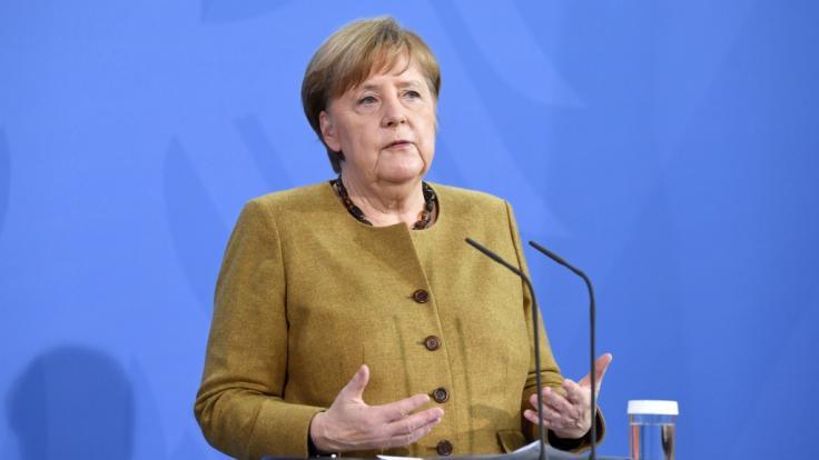 Bundeskanzlerin Angela Merkel (CDU) soll für einen Öffnungsplan in vier Schritten plädieren.