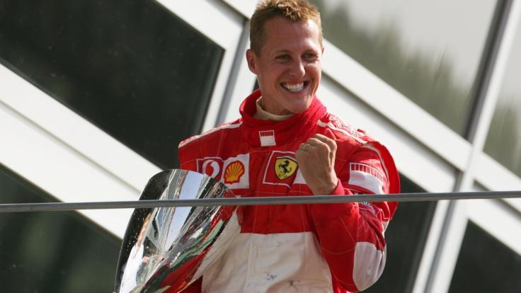 Michael Schumacher, hier auf einer Aufnahme aus dem Jahr 2006, feiert am 3. Januar 2018 seinen 50. Geburtstag.
