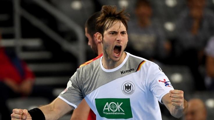 DHB-Kapitän Uwe Gensheimer verlangt vollen Einsatz gegen Tschechien. (Foto)