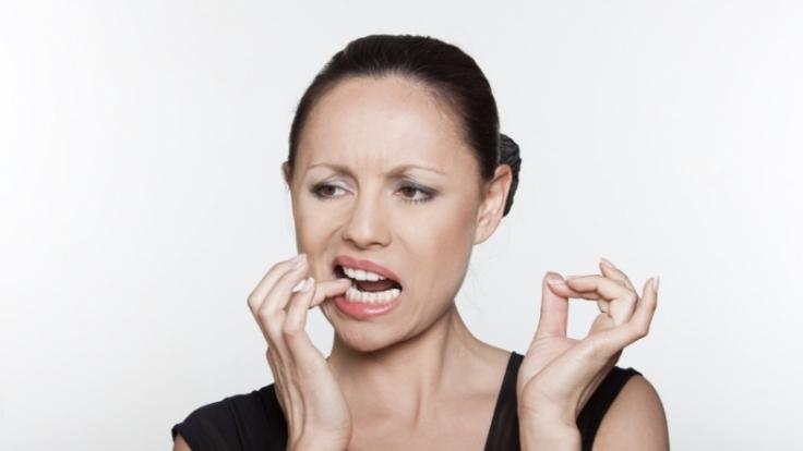 Aphten sind Bläschen im Mund, die schmerzen. (Foto)