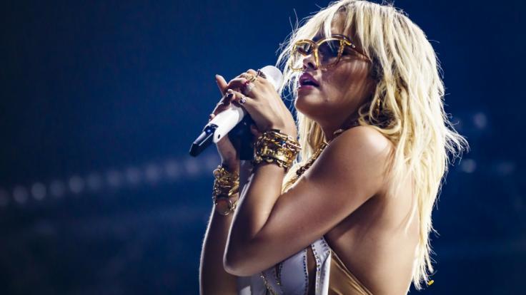 Rita Ora lässt bei Instagram tief blicken. (Foto)