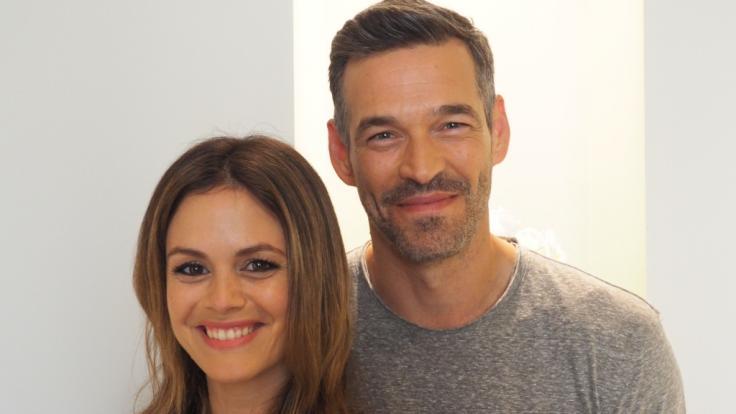 """Die US-Schauspieler Rachel Bilson und Eddie Cibrian bei einem Fototermin zur Vorstellung ihrer neuen Vox-Serie """"Take Two"""". (Foto)"""
