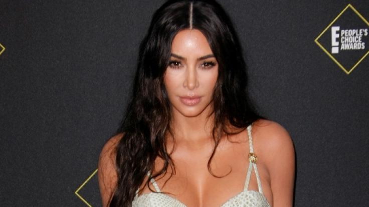 Mit ihrem neuesten Strandfoto versext Kim Kardashian das Netz. (Foto)