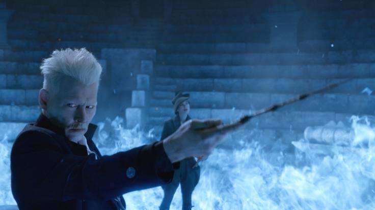 """Der zweite Teil des Harry-Potter-Spin-Offs """"Phantastische Tierwesen2: Grindelwalds Verbrechen läuft am Ostersonntag im TV. (Foto)"""