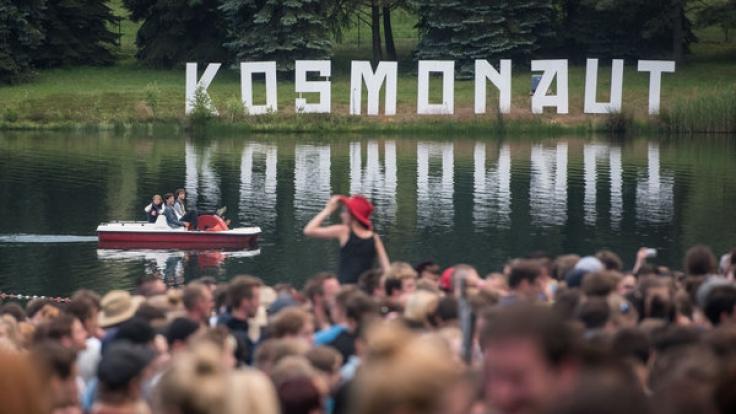Das Kosmonaut-Festival am Stausee Rabenstein wird von Jahr zu Jahr größer.