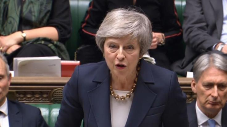 Theresa May hat das Misstrauensvotum überstanden.