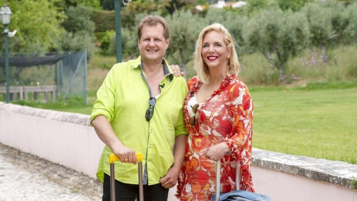 Jens Büchner ist gemeinsam mit seiner Frau Daniela im