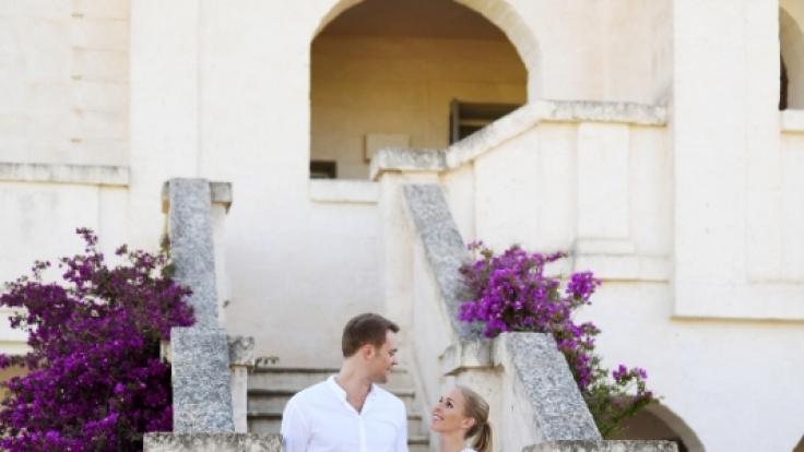 Um sich auf die Hochzeit einzustimmen. (Foto)