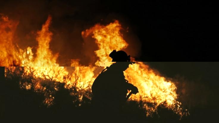 Feuer In Hessen