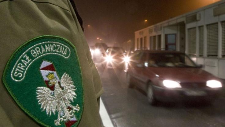 Wo endet Europa? Die polnisch-ukrainische Grenze wird wohl noch länger der Außenrand der EU sein. (Foto)