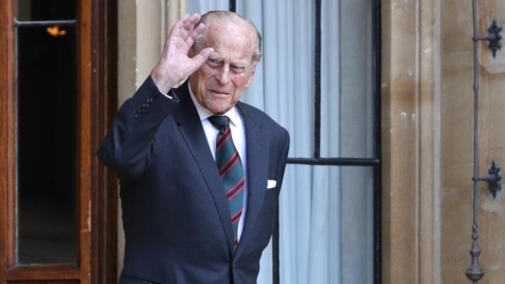 Auch mit fast 100 Jahren nicht unterzukriegen: Prinz Philip, der Herzog von Edinburgh.