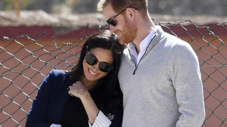 Die Hochzeit von Meghan Markle und Prinz Harry im Mai 2018 wurde von ernstzunehmenden Sicherheitsrisiken begleitet. (Foto)