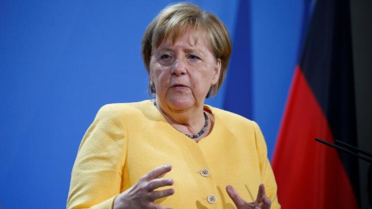 Angela Merkel geht in wenigen Wochen in Rente. (Foto)