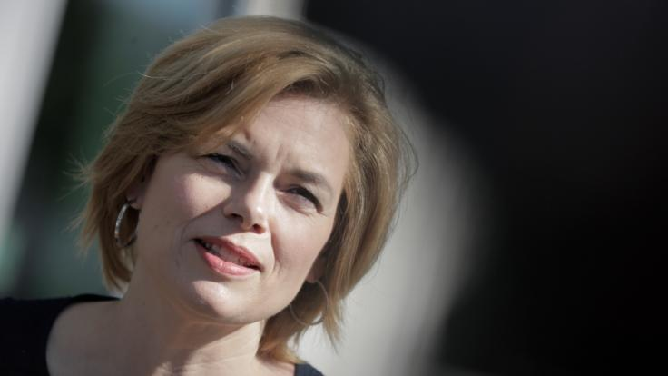 Julia Klöckner bezeichnet Kritiker als Hatespeaker.