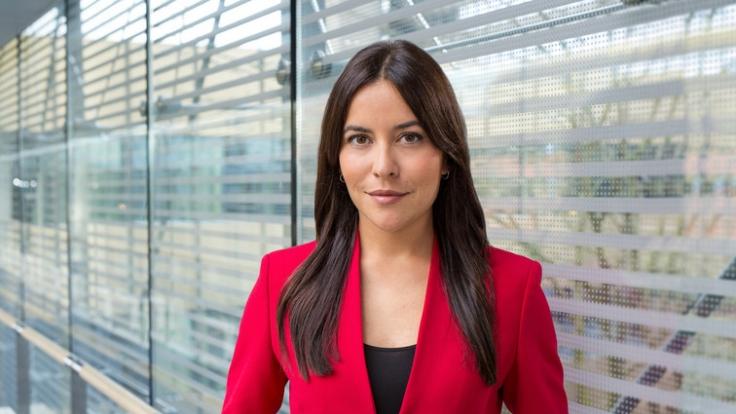 """Aline Abboud ist unter anderem das Gesicht der News-Sendung """"heute XPress"""". (Foto)"""