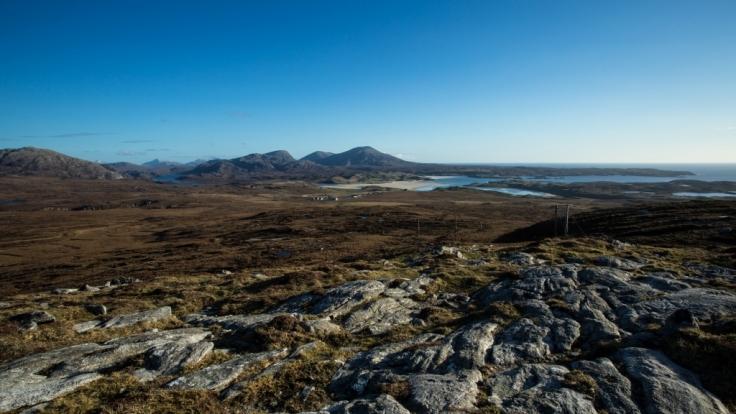 Einzigartige Natur auf der Isle of Lewis in Schottland. (Foto)