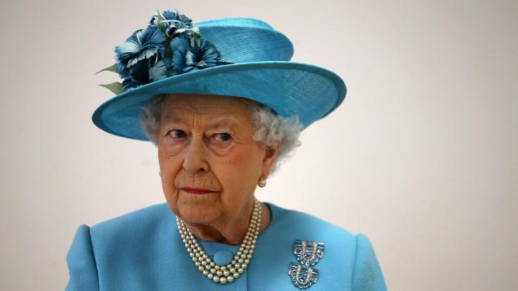 Queen Elizabeth II. ist über den neuesten Nacktskandal im Königshaus alles andere als erfreut.