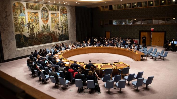 Im UN-Sicherheitsrat wird die Verlängerung des im Oktober auslaufenden Embargos gegen den Iran heftig debattiert. (Foto)