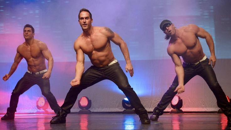 Mit Waschbrettbauchund heißen Tanzeinlagen bringen die amerikanischen Stripper jedes Frauenherz um den Verstand. (Foto)