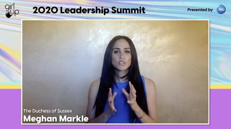 Meghan Markle fand in einer Video-Konferenz flammende Worte gegen Rassismus und für Frauenrechte. (Foto)