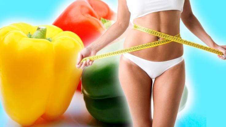 Chilischoten - die zur Paprikapflanze gehören - enthalten Capsaicin, das den Hunger dämpft und so beim Abnehmen hilft. (Foto)