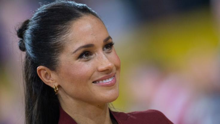Herzogin Meghan hat Grund zur Freude: Bereits vor der Geburt ihres ersten Babys beeinflusst die Ehefrau von Prinz Harry weltweit die Babynamen-Hitlisten. (Foto)