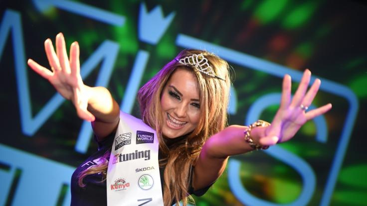 Veronika Klimovits wurde 2014 zur Miss Tuning gewählt.